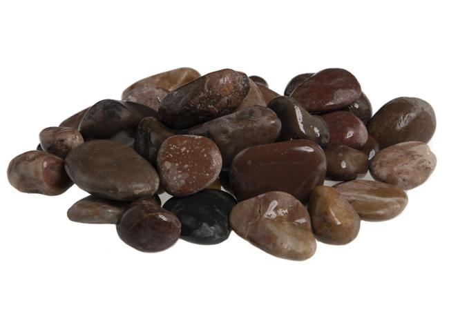 Polished Russet Pebbles