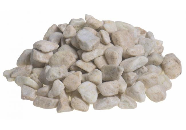 20-40mm White Pebbles
