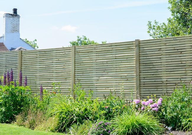 Grange Contemporary Fence Panel