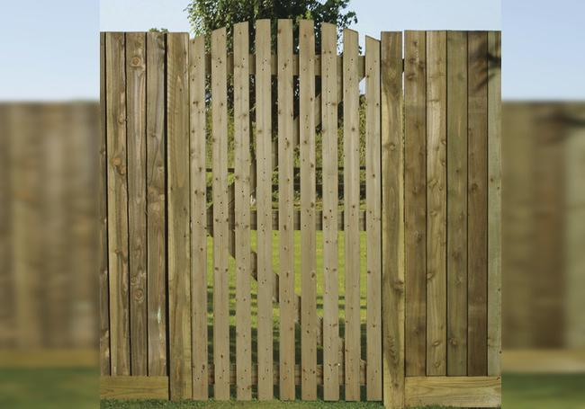 Charltons Orchard Curved Gate