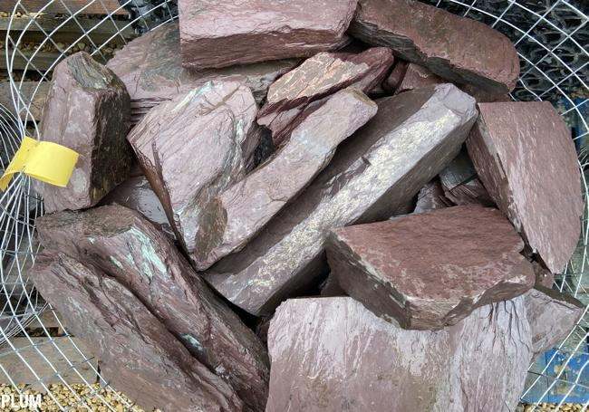Slate Rockery Stone (Three Colours Available)