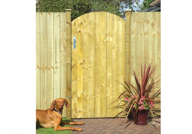 Grange Arched Featheredge Gate