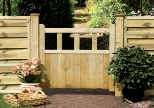 Grange Solid Infill Gate