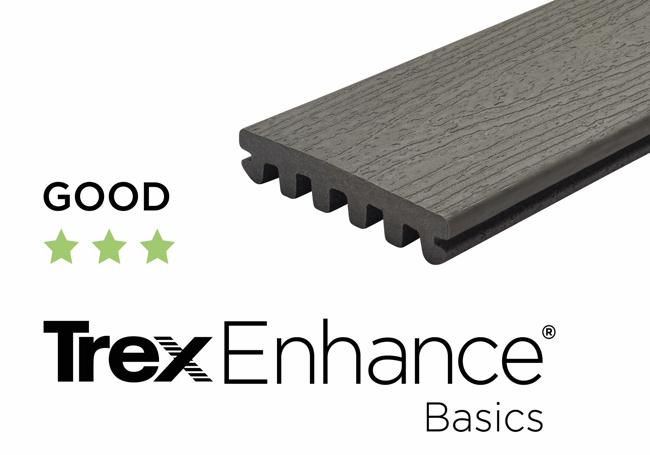 Trex Enhance Clam Shell Decking