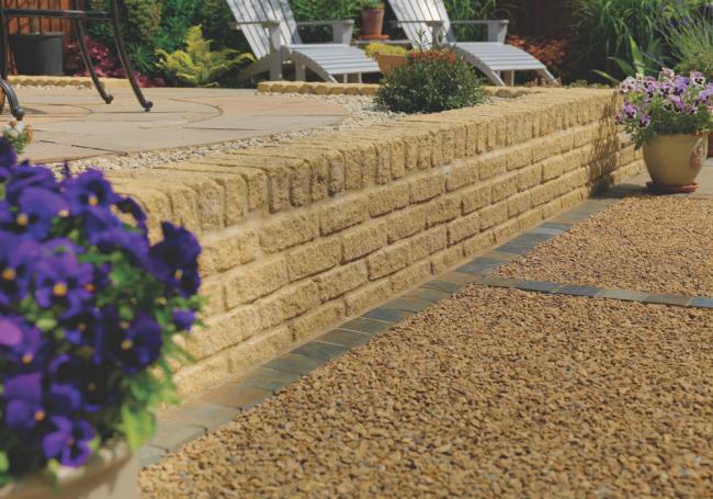 Bekstone Golden Buff Walling