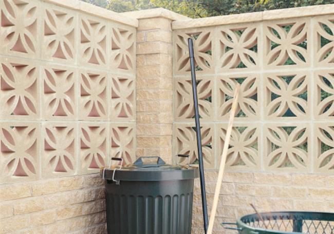 Bradstone Leaf Walling