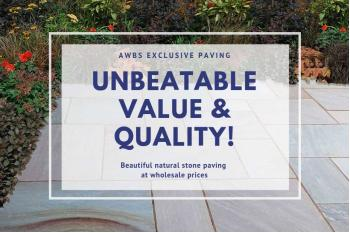 High-quality Budget Paving Slabs From AWBS