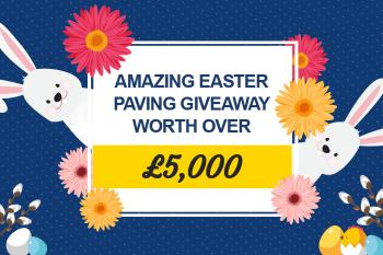 Amazing Easter Paving Giveaway Worth Over £5,000 From AWBS!