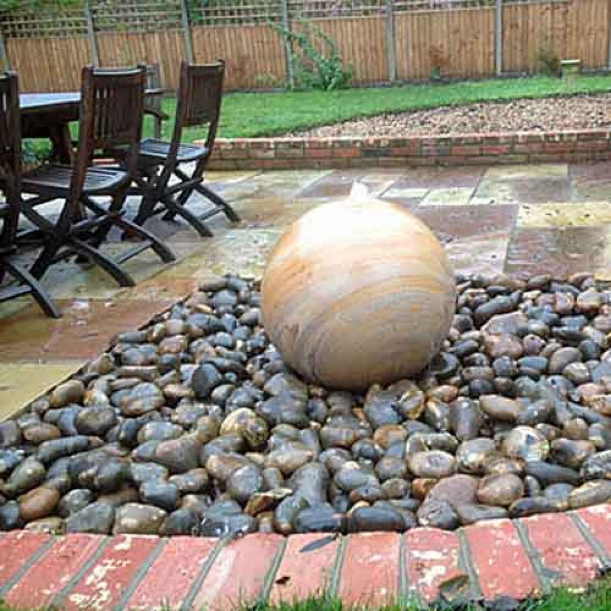 Paving Stones And Landscaping Rocks For Water Features