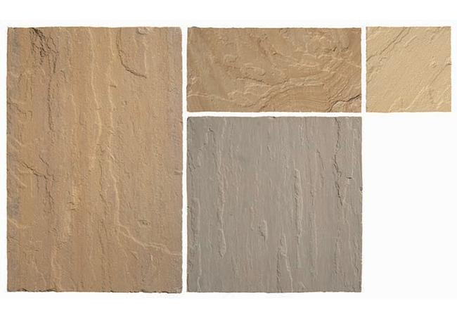 Global Stone Country Buff Sandstone 15.3m² Pack