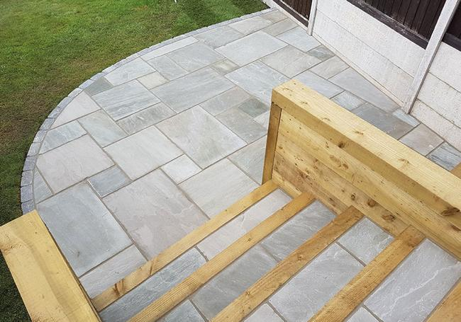 Global Stone Castle Grey Sandstone 15.3m² Pack