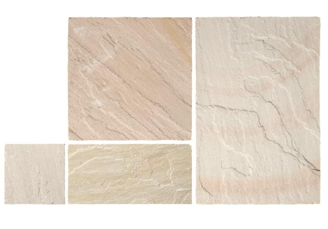 Global Stone Fossil Mint Sandstone 15.3m² Pack