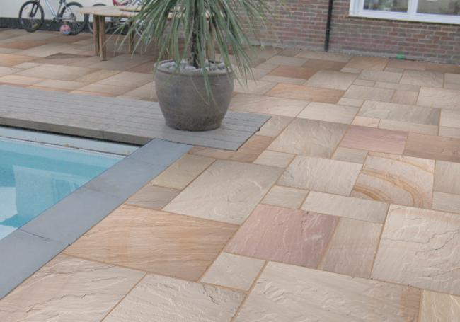 Global Stone Ravenna Sandstone 15.3m² Pack