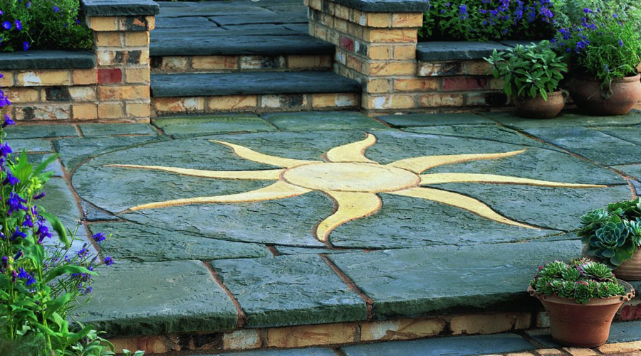Patio Circles And Garden Stepping Stones Ideas Advice