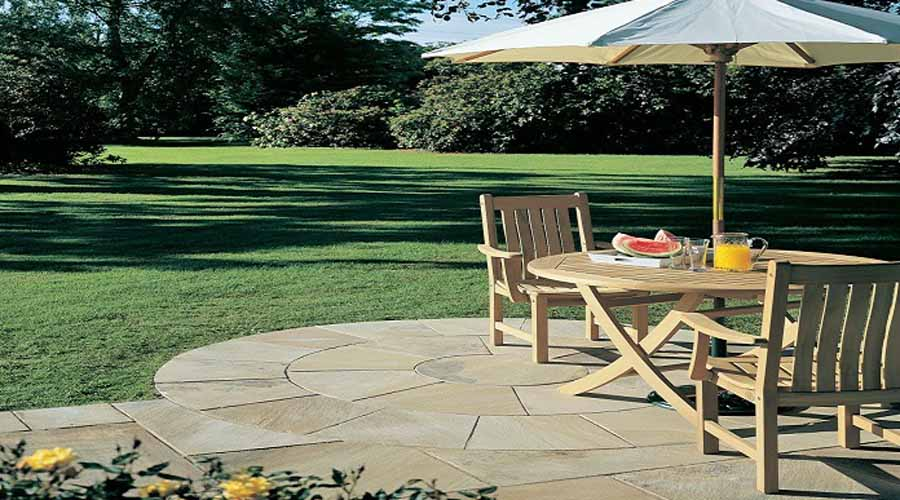 Patio Circles In A Range Of Styles And Sizes