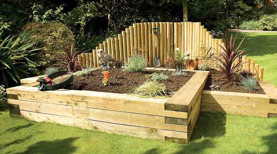 The versatility of railway sleepers allows you to be really creative and make some stunning garden features. Railway sleeper steps can be a striking ...