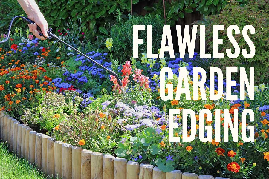 Create A Flawless Finish With Garden Edging, How To Stone Garden Border